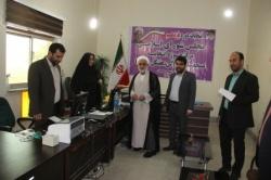 بازدید فرماندار مسجدسلیمان از ستاد انتخابات شهرستان