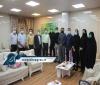 نشست صمیمی فرمانده انتظامی شهرستان مسجدسلیمان با اهالی رسانه به مناسبت روز خبرنگار